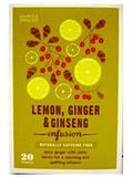 Infusion # 26 : Infusion Citron, Gingembre et Ginseng - Marks & Spencer