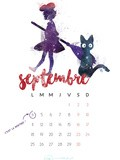 Calendrier et Wallpapers de septembre 2017