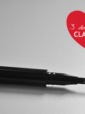 Clarins 3 dot liner & Be long mascara// Coup de coeur