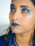 Make-up// Blue overdose