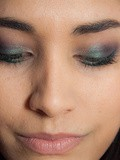 Make-up// Green All-over