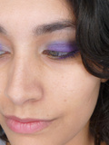Make-up// Halo violet