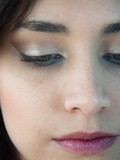Make-up// Inner blue & palette Au Naturel de Sleek