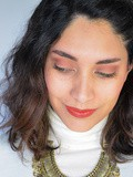 Make-up// Ochre et cuivre festifs