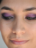 Tuto Make-up/ Violet
