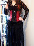 Darkinette of the day #12 : En rouge et noir