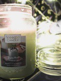 La bougie Alpine Mint de Yankee Candle