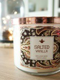 La bougie Salted Vanilla de Bath and Body Works