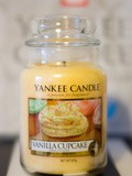 Light My Fire : Vanilla Cupcake de Yankee Candle