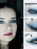 Make-up : du bleu et du doré