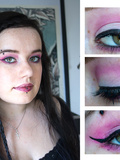 Make up : Du rose et de la tresse