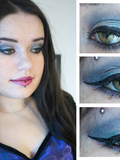 Make up : le defi du bleu clair