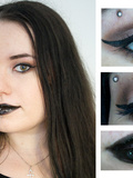 Make Up : Le look pin-up version goth