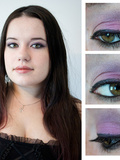 Make up violet avec Frontcover