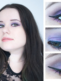 Make up violet avec Kiko