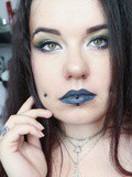 Un maquillage aux couleurs de Serpentard