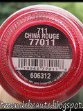 China Rouge de China Glaze