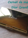 All we want for Christmas #6 : carnet de maquillage Dior Grand Bal