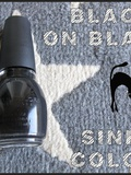 Black on black – Sinful Colors