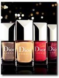 Collection make up noël 2011 Dior : zoom sur les vernis (vidéo et swatches inside)