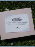 GlossyBox – Feminity Booster – Avril 2013