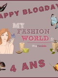 Happy Blogday My Fashion World