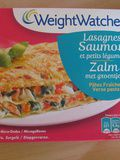 Lasagnes saumon et petits légumes – Weight Watchers