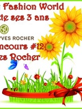 My Fashion World fête ses 3 ans – Concours #12 Yves Rocher