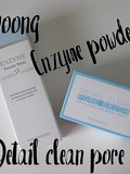 Tosowoong Enzyme powder wash and Detail clean pore brush