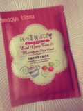 Masque Tissu Earl Grey Tea & Macaron - My Beauty Diary