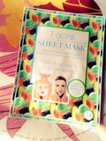 Review : le sheet mask raffermissant Mascot